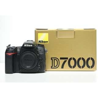 Nikon D7000 Body (SC: 49k)