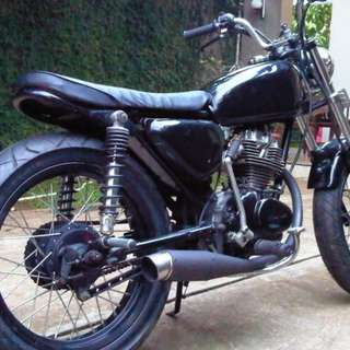 Jual Motor Honda Cb Modifikasi Terkeren