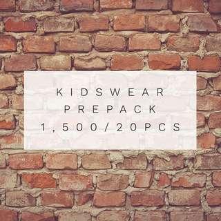 Prepacked Kidswear