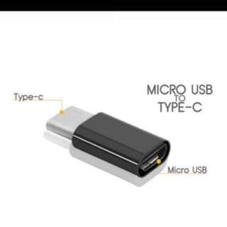 Micro usb to Typed C_