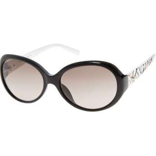 [preorder] Furla black & white oversized sunglasses