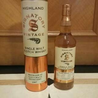 限量版 Signatory Glengrant 19 Yr Single Malt Whisky 聖弗力裝瓶廠單一麥芽威士忌