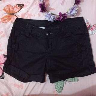 Black Shorts (smooth fabric)