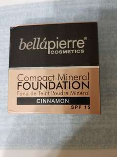 Authentic Bellapeirre compact foundation - Cinnamon shade