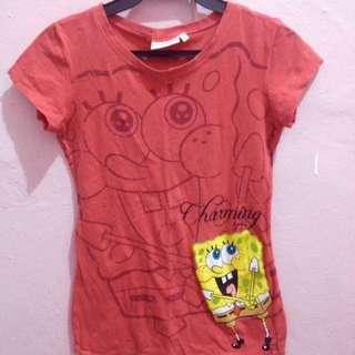 SpongeBob shirt official (Nickelodeon)