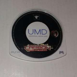 PSP UMD Need For Speed Carbon - Own The City Game