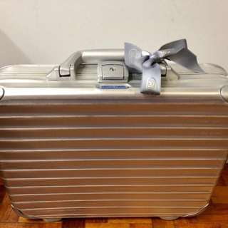 Brand New Authentic Rimowa Attache Aluminum