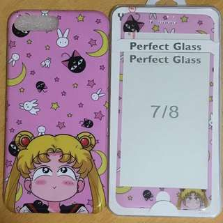 美少女戰士 iphone 7plus 手機殼+貼