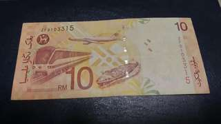RM10 ZF Replacement note-11th Series