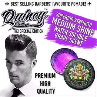Quincy Premium Pomade Tiki Special Edition usual $28
