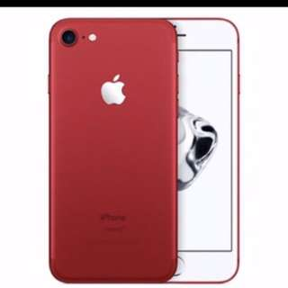IPhone 7 Plus -Red