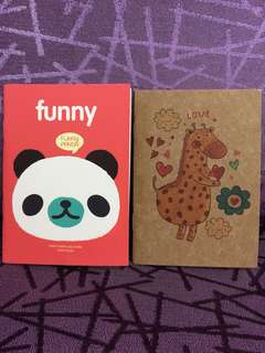 Mini Notebook - 2 sets