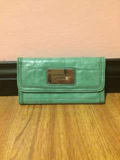 Liz Claiborne Mint Green Wallet