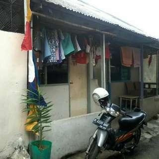 Rumah Kontrakan 2 Pintu .jalan Swadaya