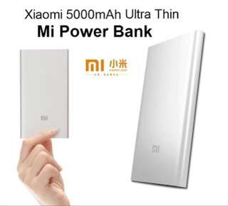 XIAOMI 5,000mah slim powerbank