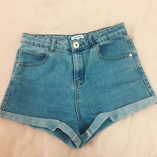 Mom high waisted shorts