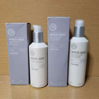 The Face Shop White Seed Brightening Set
