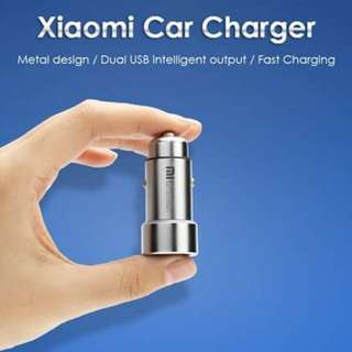 Mi DUAL CAR USB CHARGER
