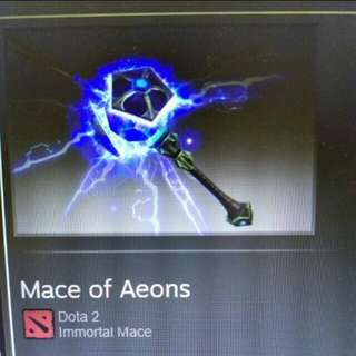 mace of aeons dota2 faceless void