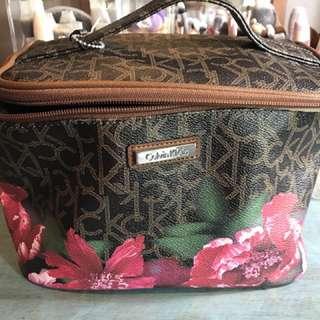Calvin Klein Floral Cosmetic Bag