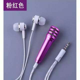 Mini mic and ear phone