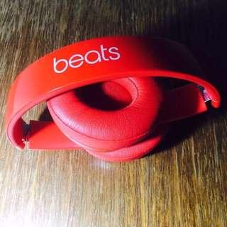 Beats by Dr. Dre - Beats Solo2 On-Ear Wireless Headphones - Red