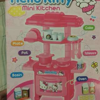 Hello kitty mini kitchen set