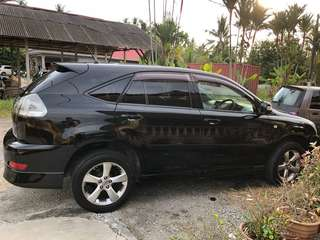 Toyota Harrier 2.4G full spec