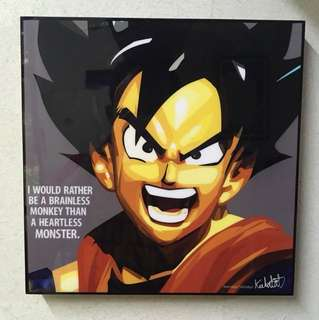 Pop Art Son Goku Dragonball