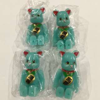 Animal Fortune Blue Cat Be@rbrick Series 33