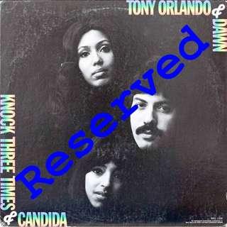 tony orlando and dawn, Vinyl LP, used, 12-inch original (mostly USA) pressing