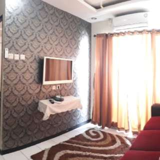 2 kamar furnished di sewakan