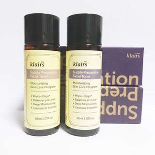 $6 KLAIRS Supple Preparation Facial Toner 30ml