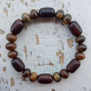(PO) Stigi and Agar wood Bracelet