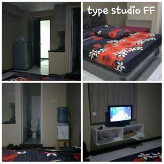 Studio furnished