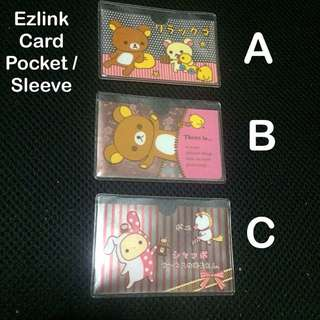 EZlink Card pockets / sleeves / holders (Rilakkuma) [ children gifts presents uncle.anthony uncle anthony uac 2bump]