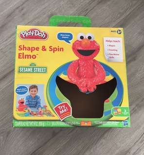 Shape & Spin Elmo Playdoh