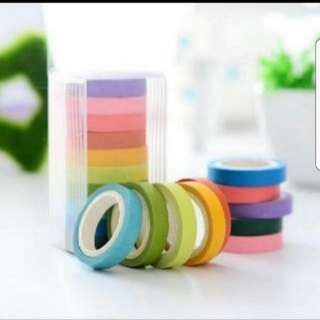 10pcs Washi tape set