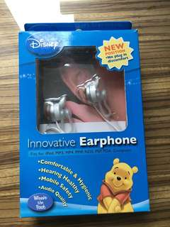 Winnie the Pooh 耳機適用任何音響或電話媒體,舒適的耳托配件