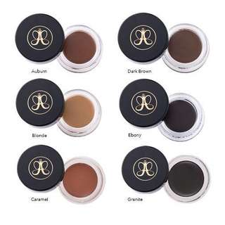 $26.90 Anastasia Beverly Hills Dipbrow Pomade - Medium Brown, Dark Brown, Chocolate, Ebony