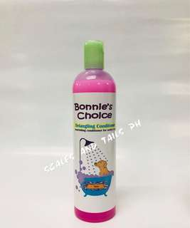 Bonnie's Choice Dog Conditioner - Rose Scent