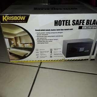 KRISBOW hotel black safety box