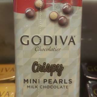 🚚 GODIVA 香脆牛奶巧克力豆 35g 機場限定
