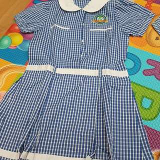 Learning vision toddler girl uniform