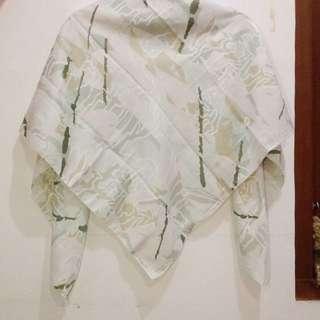 Hijab Motif Soft Green