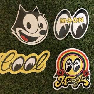 felix mooneyes sticker