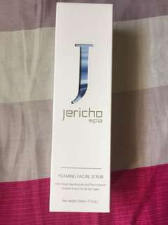 Jericho Spa: Foaming Facial Scrub