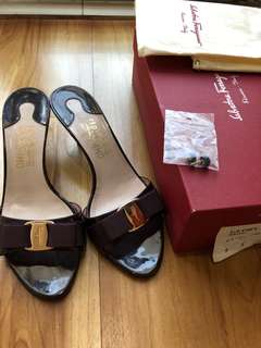 Authentic Salvatore Ferragamo tipe Glory 5cm heels #MakinTebel