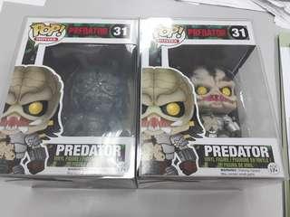 Funko Pop MOVIES Predator #31 brand new in box with protector!