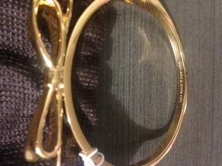 Bangle by Kate spade brand new 21inches gold tone
